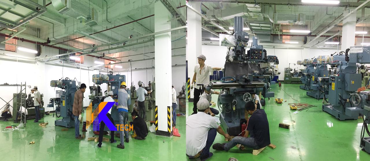 Lắp đặt máy CNC